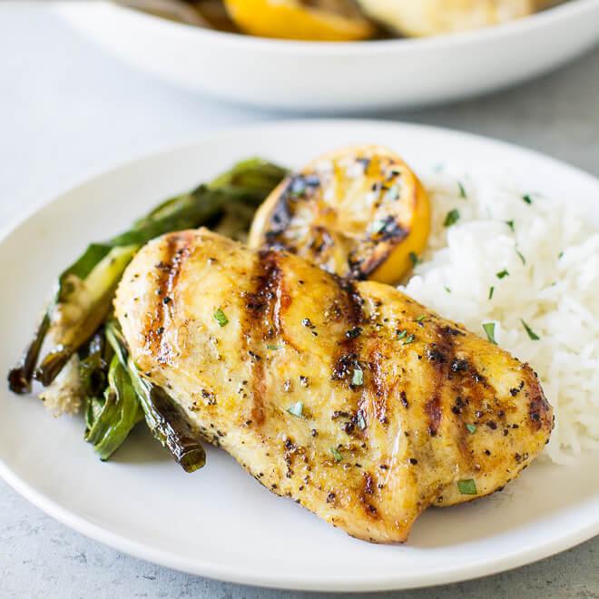 2 Ingredient Grilled Lemon Pepper Chicken Recipe Cookr