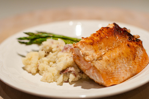 Honey Ginger Salmon Recipe