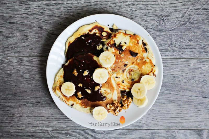 Banana & Chocolate Chip Pancakes