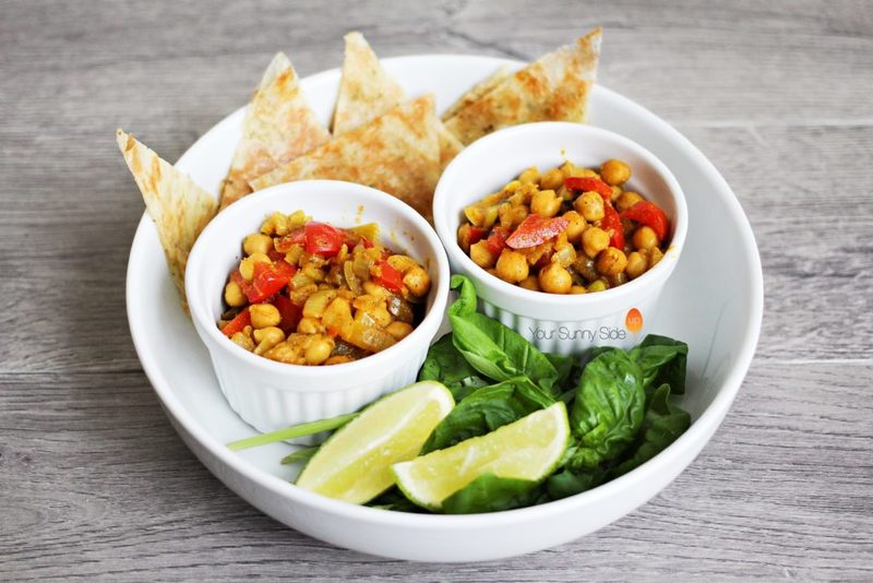 Chickpea & Red Pepper Curry