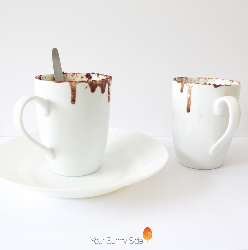 Three Minute Chocolate Mug Cake