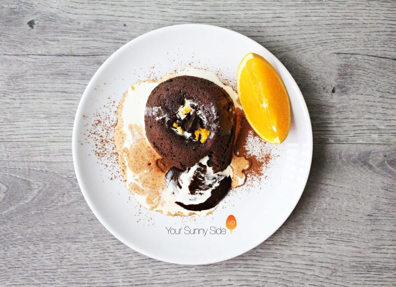 Dark Chocolate Orange Fondant