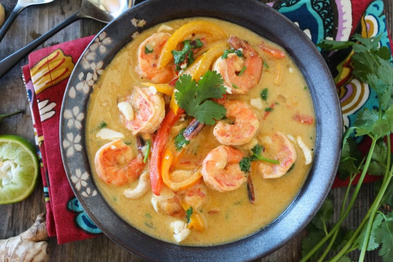 Shrimp Thai Green Curry