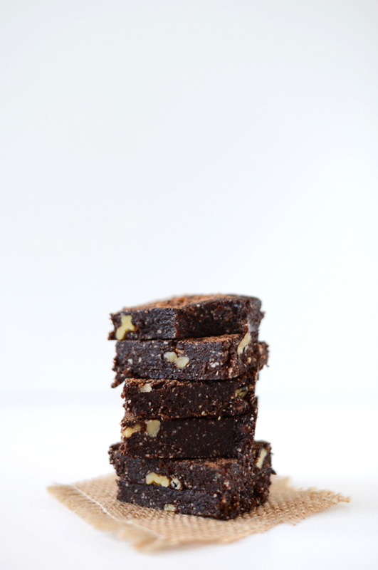 5 Minute Espresso Walnut Brownies