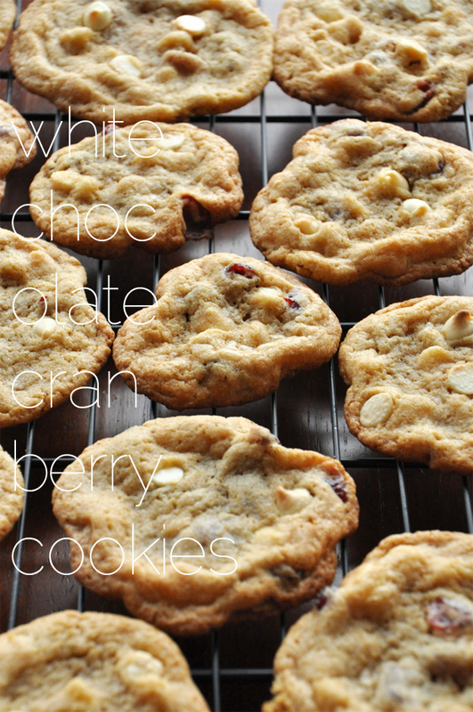 Whole Wheat White Chocolate Cranberry Cookies {with Sea Salt}