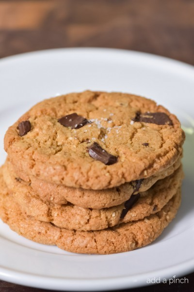 Brown Butter Dark Chocolate Chunk Cookies Recipe