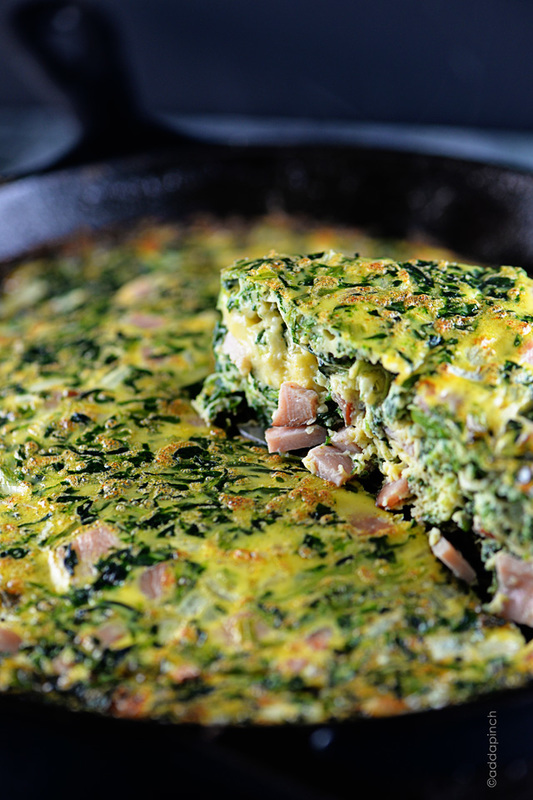 Easy Ham Frittata Recipe