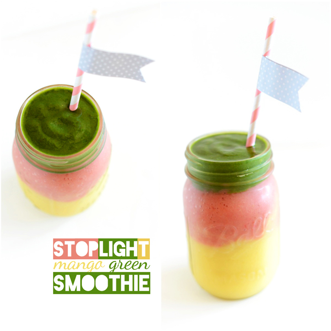 Stoplight Mango Green Smoothie