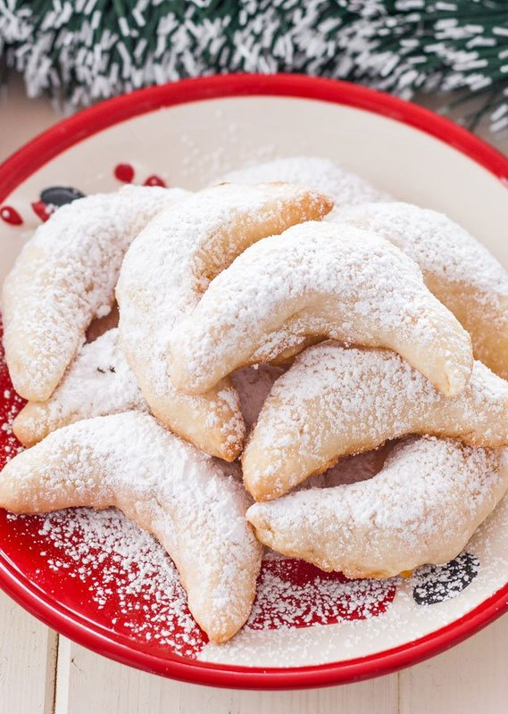 Pineapple Coconut Crescents