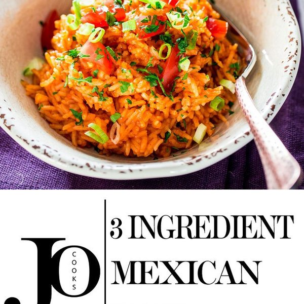 3 Ingredient Mexican Rice