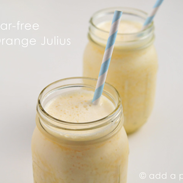 Sugar-Free Orange Julius Recipe