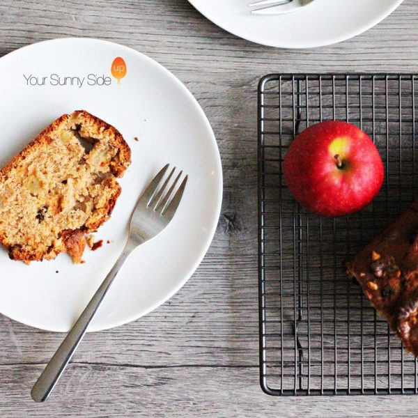 Apple & Walnut Banana Bread