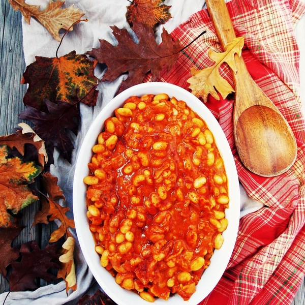 Bacon Maple Baked Beans