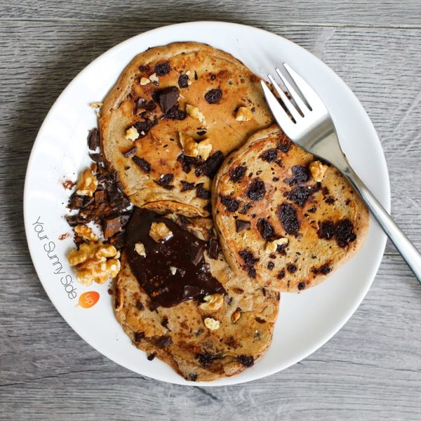 Chocolate & Coffee Pancakes