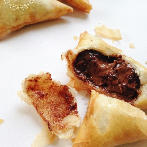 Chocolate Samosa