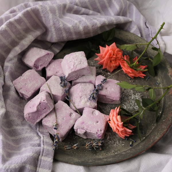 Lavender Rose Marshmallows