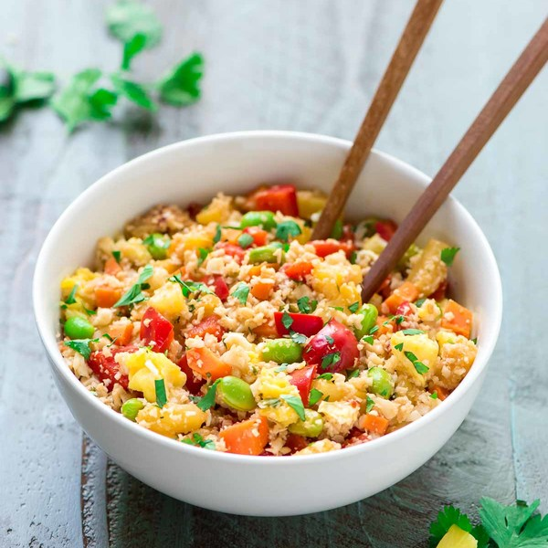 Healthy Fried Rice