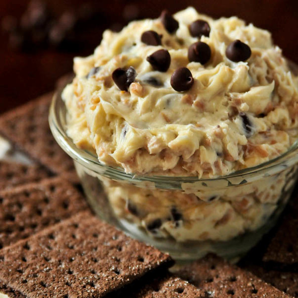 The BEST Cookie Dough Dip Recipe!