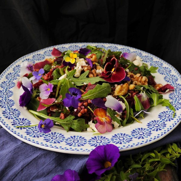 Roasted Beetroot Buckwheat Salad