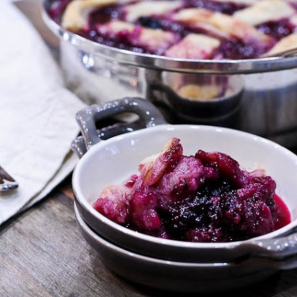 Southern Blackberry Cobbler