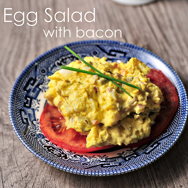 Egg Salad with Bacon Recipe