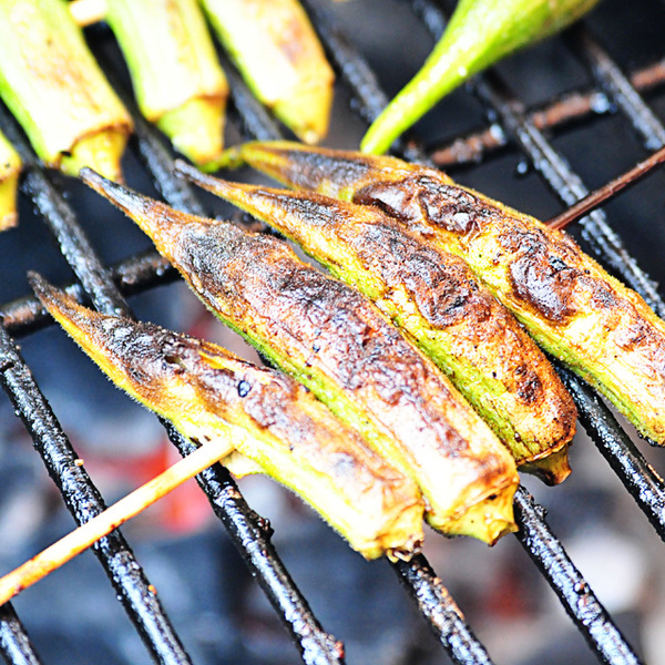Grilled Okra Recipe