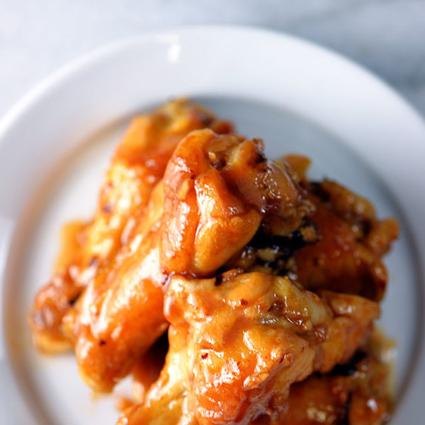 Maple Glazed Chicken Wings Recipe