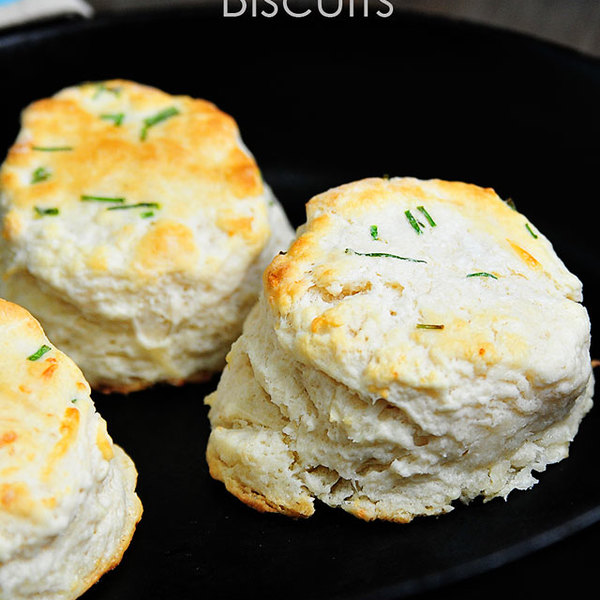 Parmesan Chive Biscuits