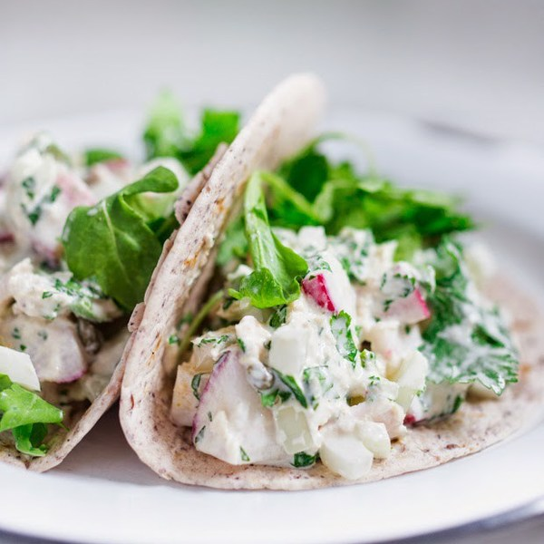 Mexican Tuna Salad Tacos