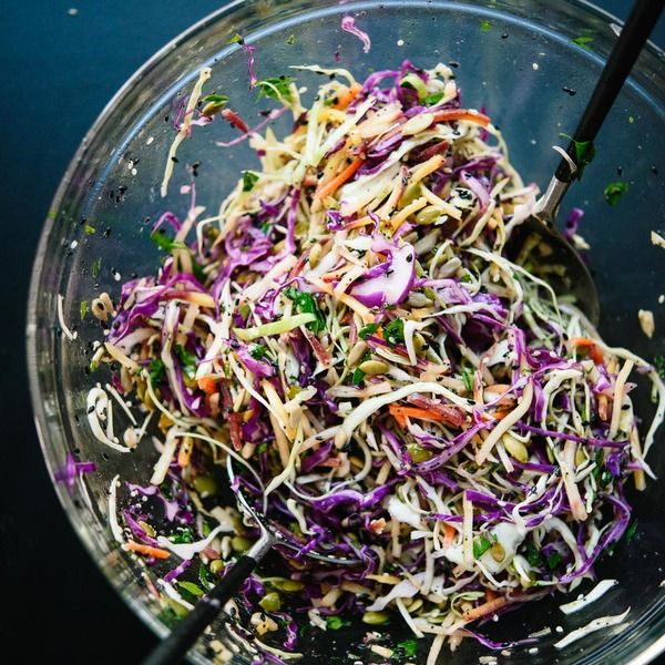 Simple Seedy Slaw