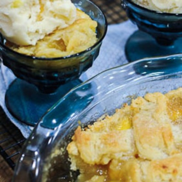 Grandmothers Peach Cobbler