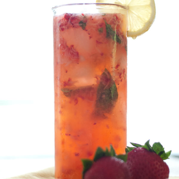 Strawberry Smash Cocktail