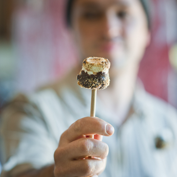 S'mores on a Stick – Marshmallow Pops!