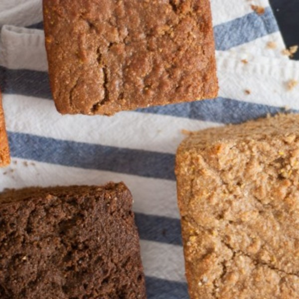 Quick Molasses Bread // Notes on Baking with Natural Sweeteners