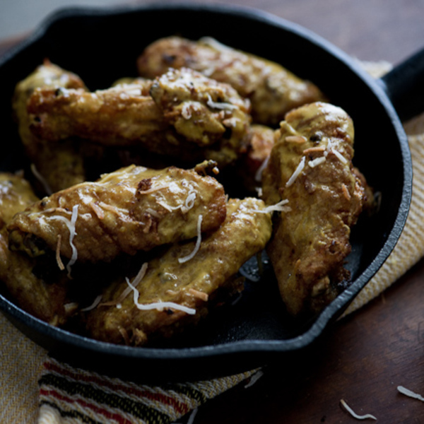 Crispy Curry-Spice Chicken Wings