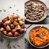 3 Easy Vegetarian Thanksgiving Side Dishes
