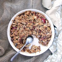 Apple Maple Pecan Crumble