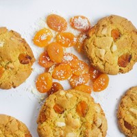 Apricot, Coconut and White Chocolate Chip Cookies