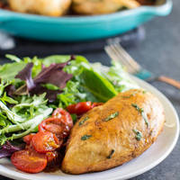 Balsamic Chicken and Tomatoes