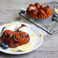 Blueberry & Lemon Bundt Cake