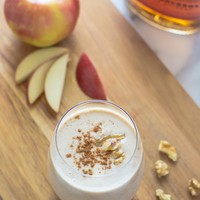 Boozy Apple Pie Smoothies