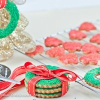 Edible Christmas Decorations: Christmas Wreath Cookies