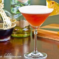 French Martini with Vanilla