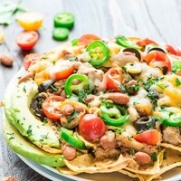 Crock Pot Healthy Nachos