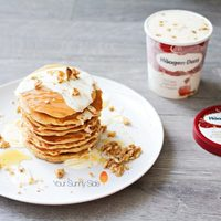 Haagen-Dazs Honey Walnut & Cream Pancakes