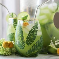 Mint Limeade Cooler