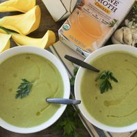 Simple Summer Squash Soup