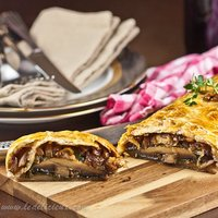 Mushroom Wellington recipe {vegetarian}