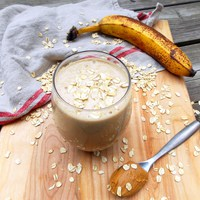 Peanut Butter Oat Smoothie