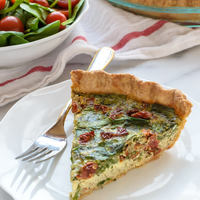 Sundried Tomato Pesto Quiche